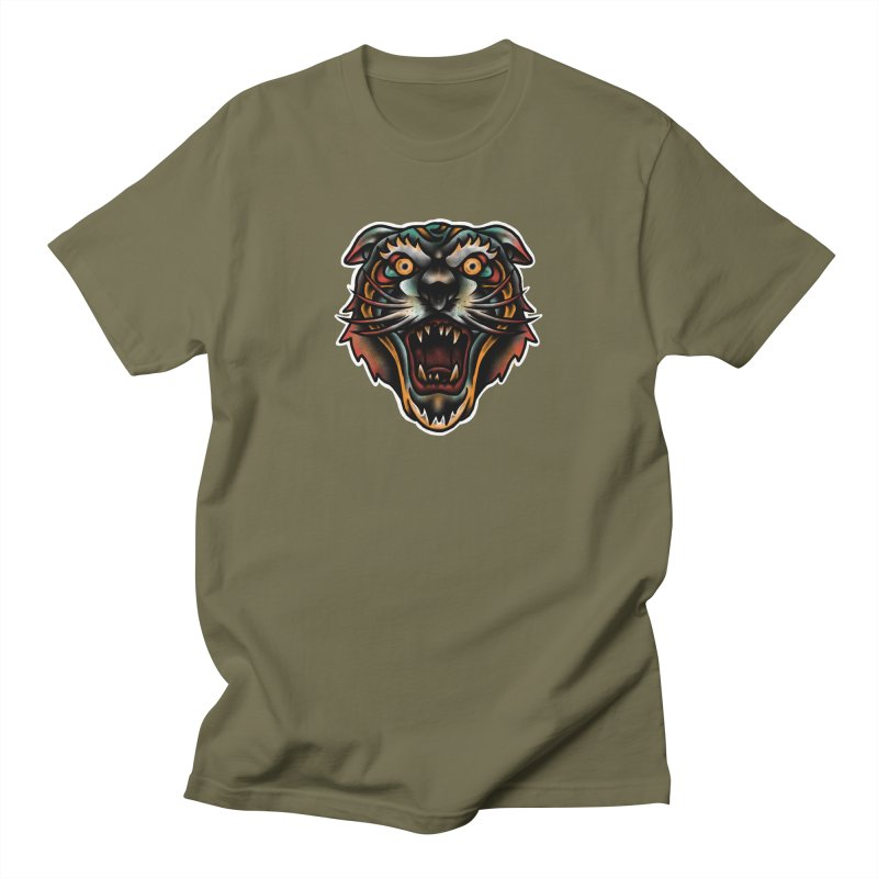 Tiger fighter Men's T-Shirt by barmalisiRTB