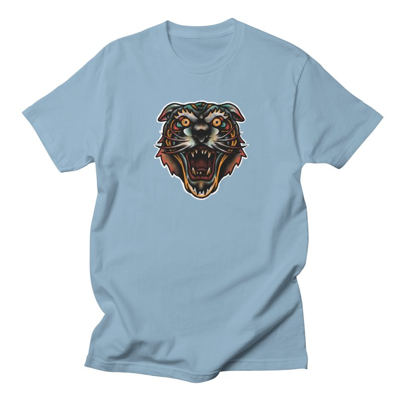 Tiger fighter Women's Regular Unisex T-Shirt by barmalisiRTB