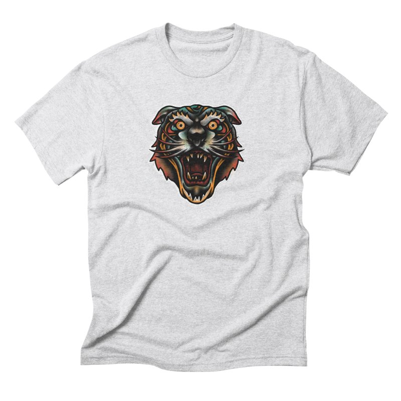 Tiger fighter Men's Triblend T-Shirt by barmalisiRTB