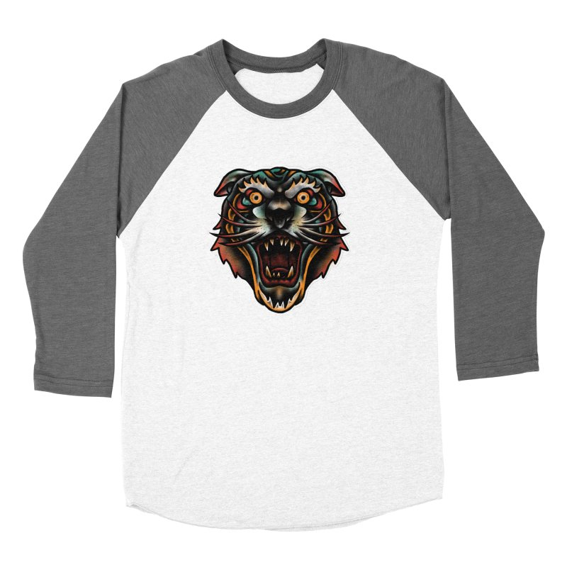 Tiger fighter Women's Longsleeve T-Shirt by barmalisiRTB