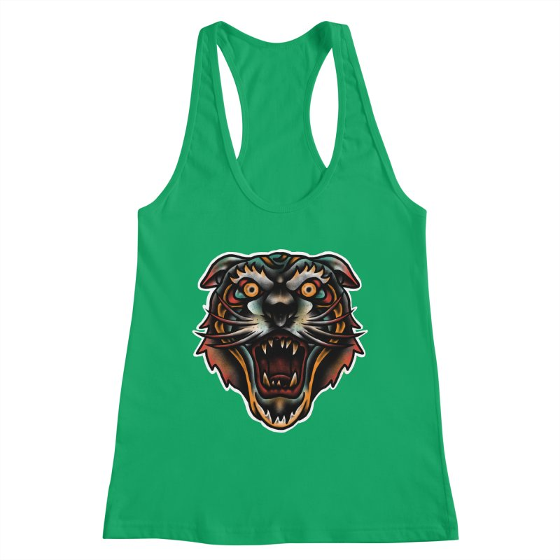 Tiger fighter Women's Tank by barmalisiRTB
