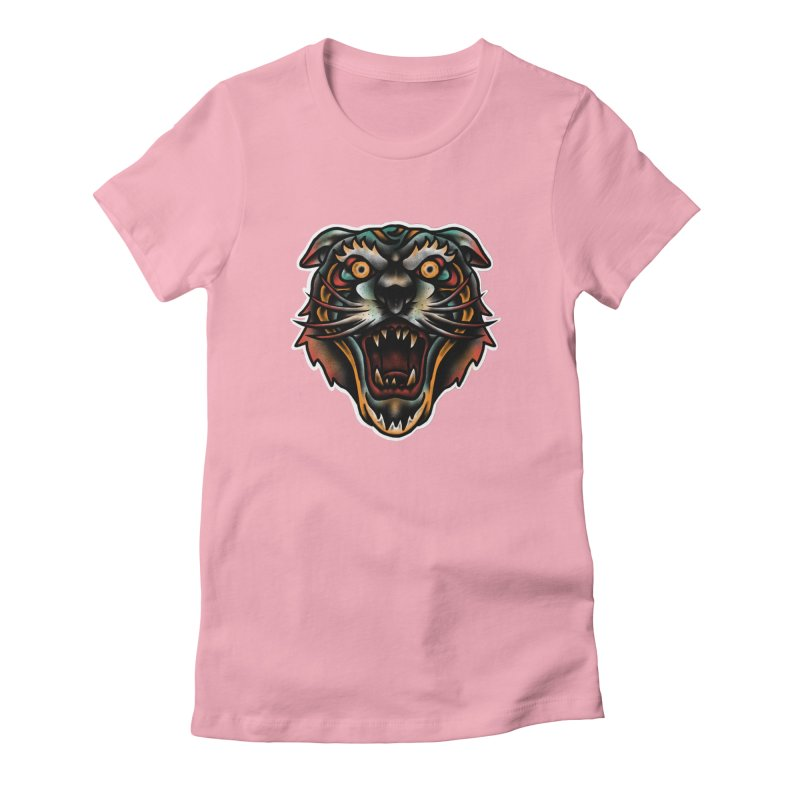 Tiger fighter Women's T-Shirt by barmalisiRTB
