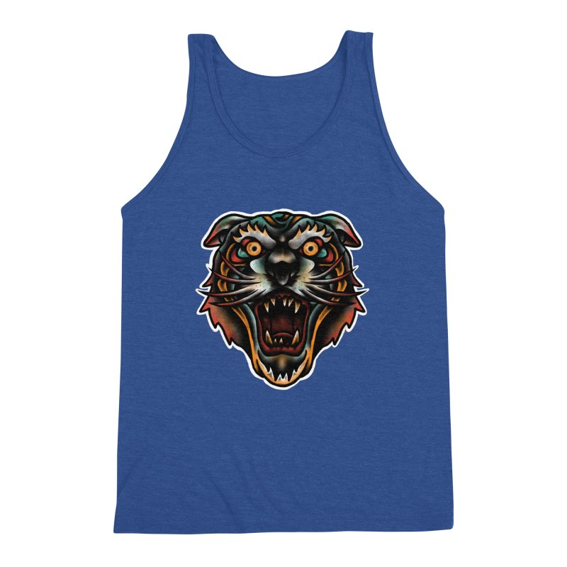 Tiger fighter Men's Tank by barmalisiRTB