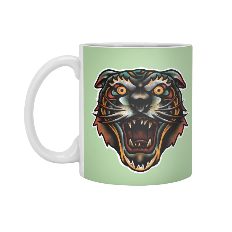 Tiger fighter Accessories Mug by barmalisiRTB