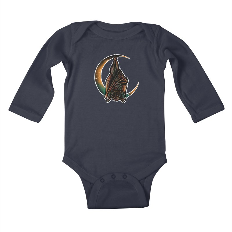 Time to Wake Up Kids Baby Longsleeve Bodysuit by barmalisiRTB