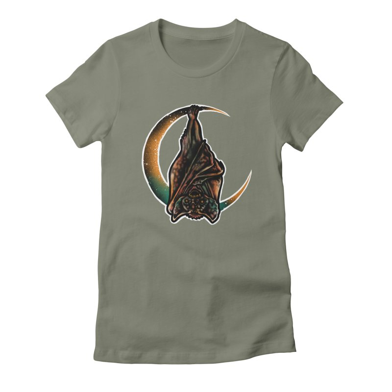 Time to Wake Up Women's Fitted T-Shirt by barmalisiRTB