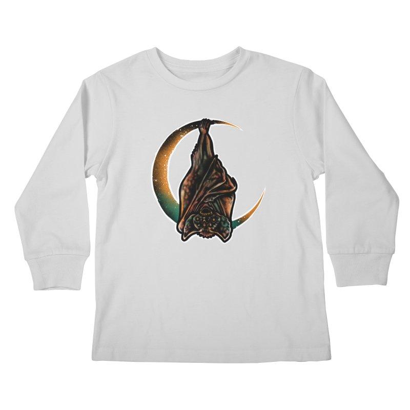 Time to Wake Up Kids Longsleeve T-Shirt by barmalisiRTB