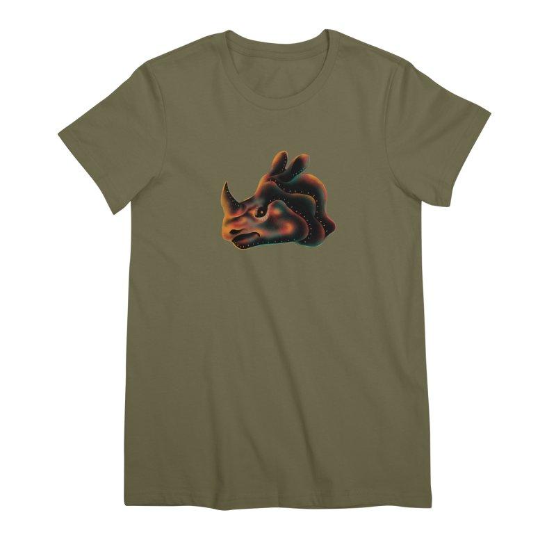 Rhino strength Women's Premium T-Shirt by barmalisiRTB