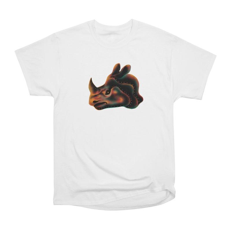 Rhino strength Men's Heavyweight T-Shirt by barmalisiRTB