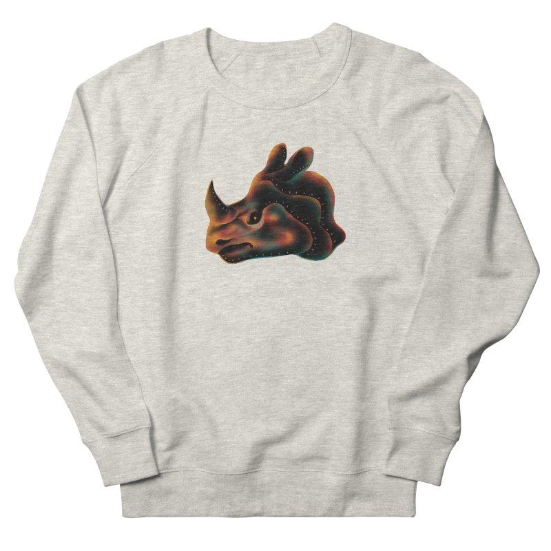 Rhino strength Men's French Terry Sweatshirt by barmalisiRTB