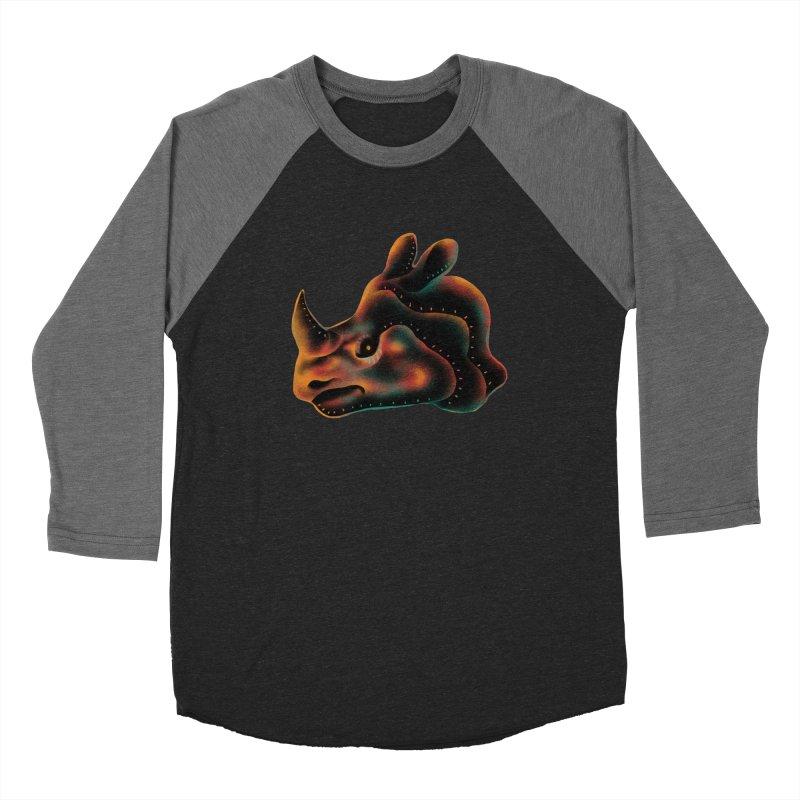 Rhino strength Women's Baseball Triblend Longsleeve T-Shirt by barmalisiRTB