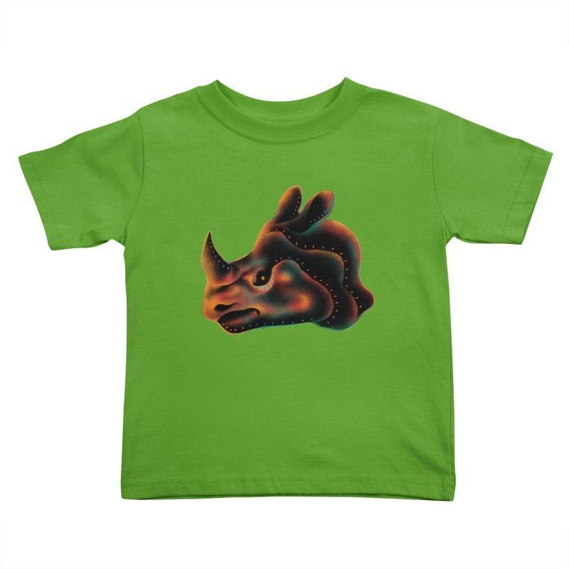 Rhino strength Kids Toddler T-Shirt by barmalisiRTB