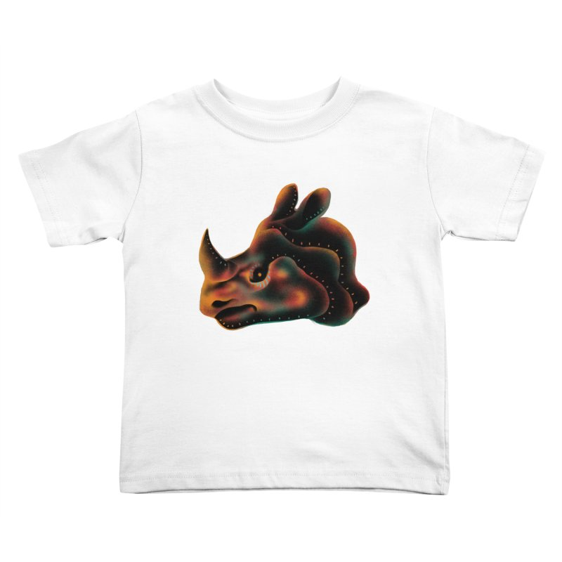 Rhino strength Kids Toddler T-Shirt by barmalisiRTB