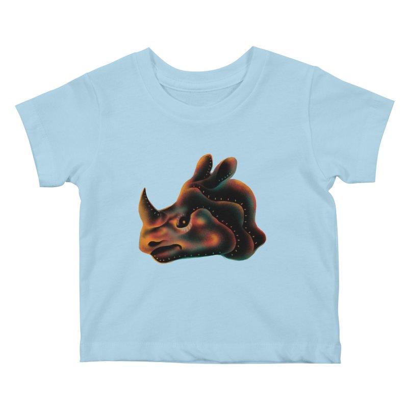 Rhino strength Kids Baby T-Shirt by barmalisiRTB