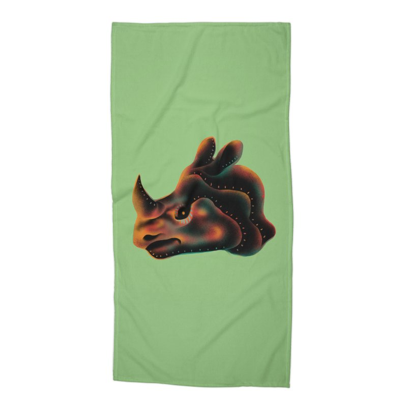Rhino strength Accessories Beach Towel by barmalisiRTB