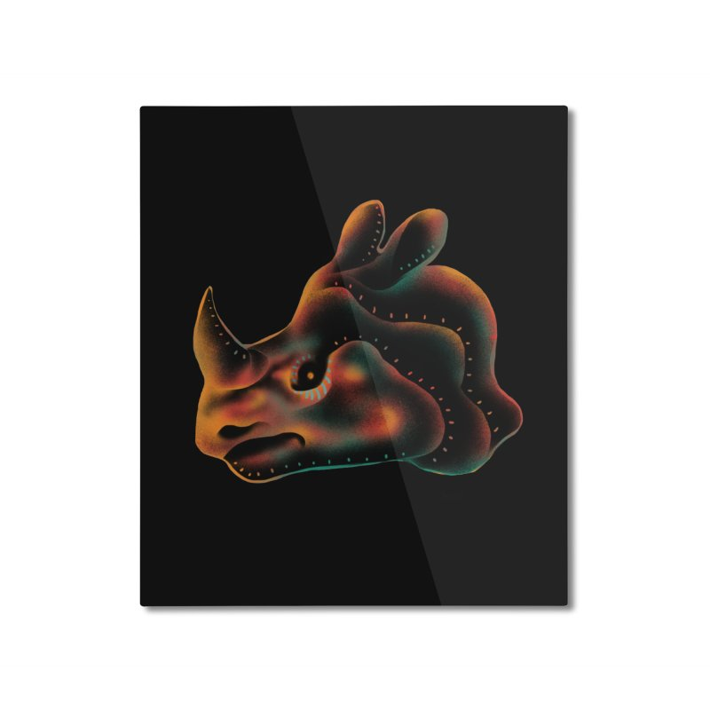 Rhino strength Home Mounted Aluminum Print by barmalisiRTB