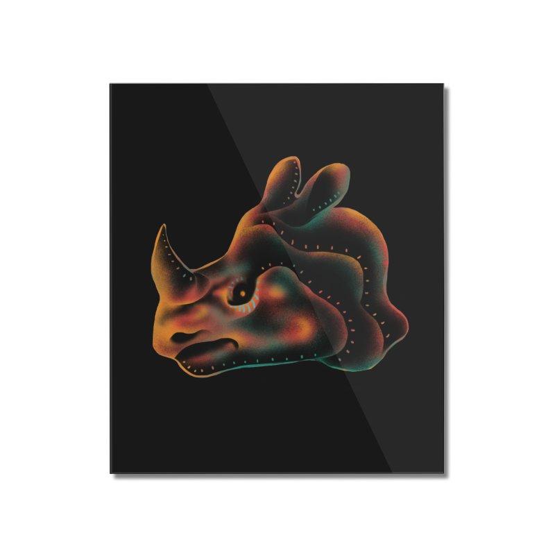 Rhino strength Home Mounted Acrylic Print by barmalisiRTB