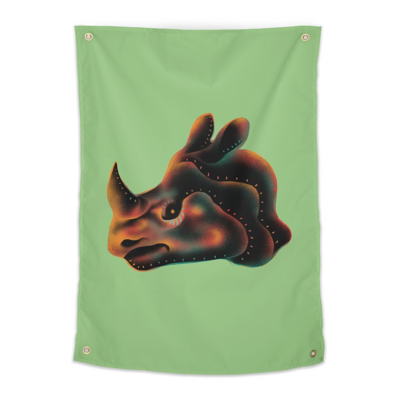 Rhino strength Home Tapestry by barmalisiRTB