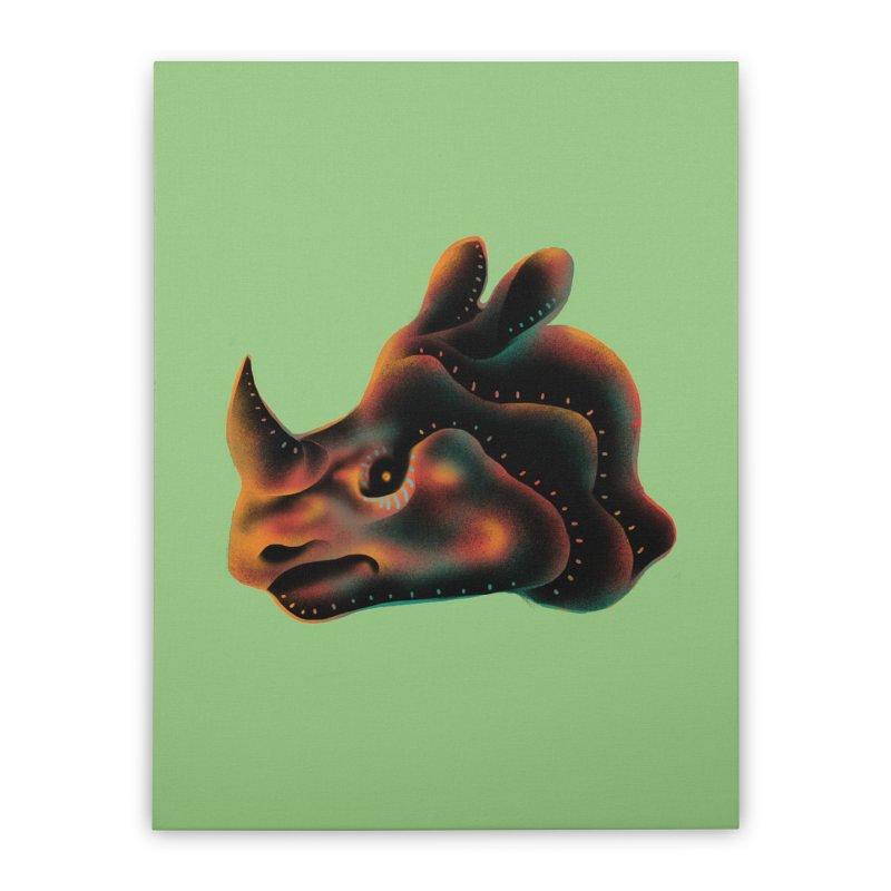 Rhino strength Home Stretched Canvas by barmalisiRTB