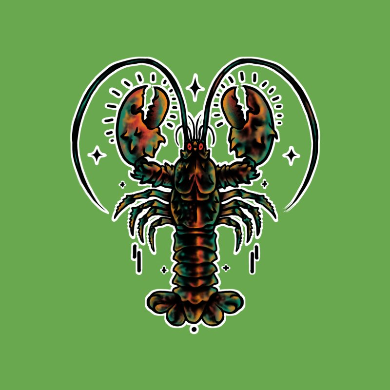 Lobster Guard Women's Longsleeve T-Shirt by barmalisiRTB