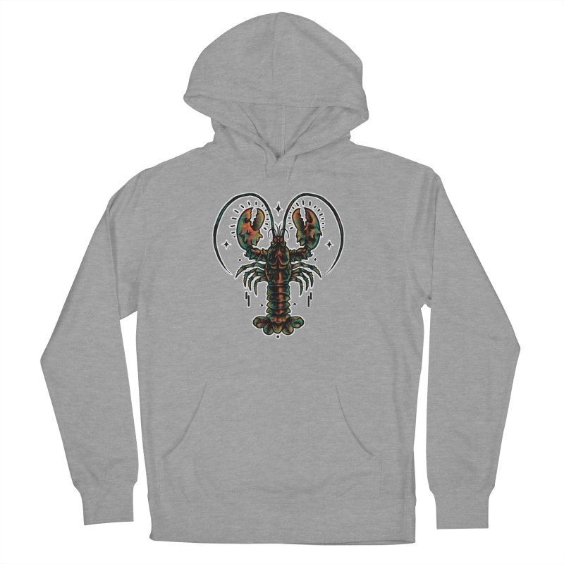 Lobster Guard Men's French Terry Pullover Hoody by barmalisiRTB