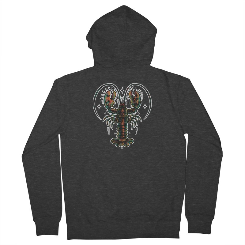 Lobster Guard Women's French Terry Zip-Up Hoody by barmalisiRTB
