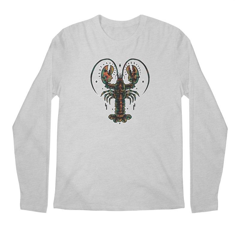 Lobster Guard Men's Regular Longsleeve T-Shirt by barmalisiRTB