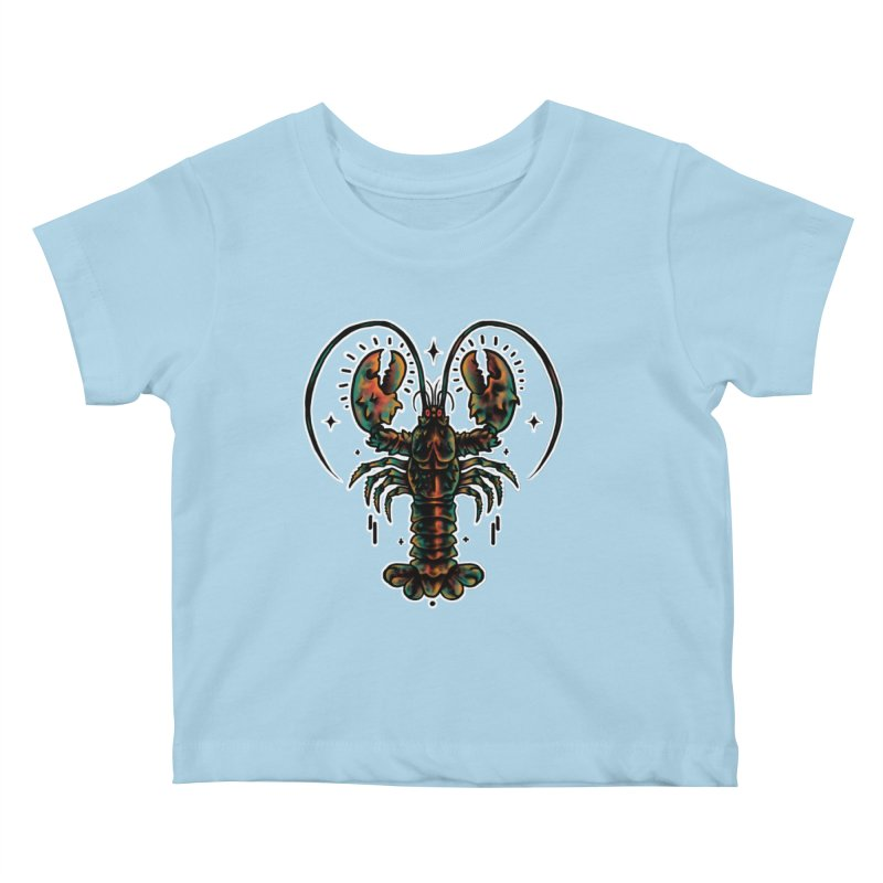 Lobster Guard Kids Baby T-Shirt by barmalisiRTB