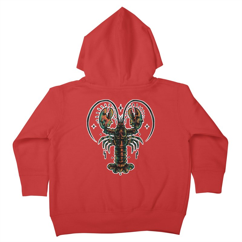 Lobster Guard Kids Toddler Zip-Up Hoody by barmalisiRTB