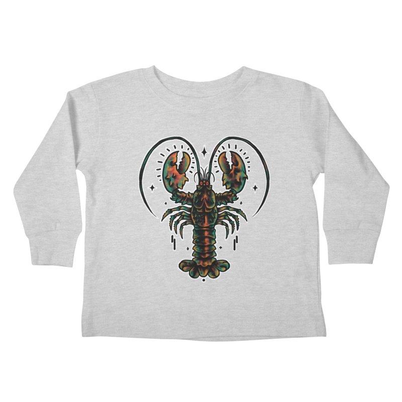 Lobster Guard Kids Toddler Longsleeve T-Shirt by barmalisiRTB