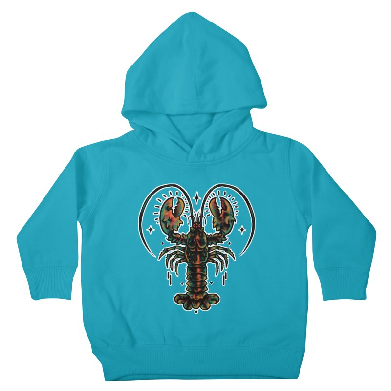 Lobster Guard Kids Toddler Pullover Hoody by barmalisiRTB