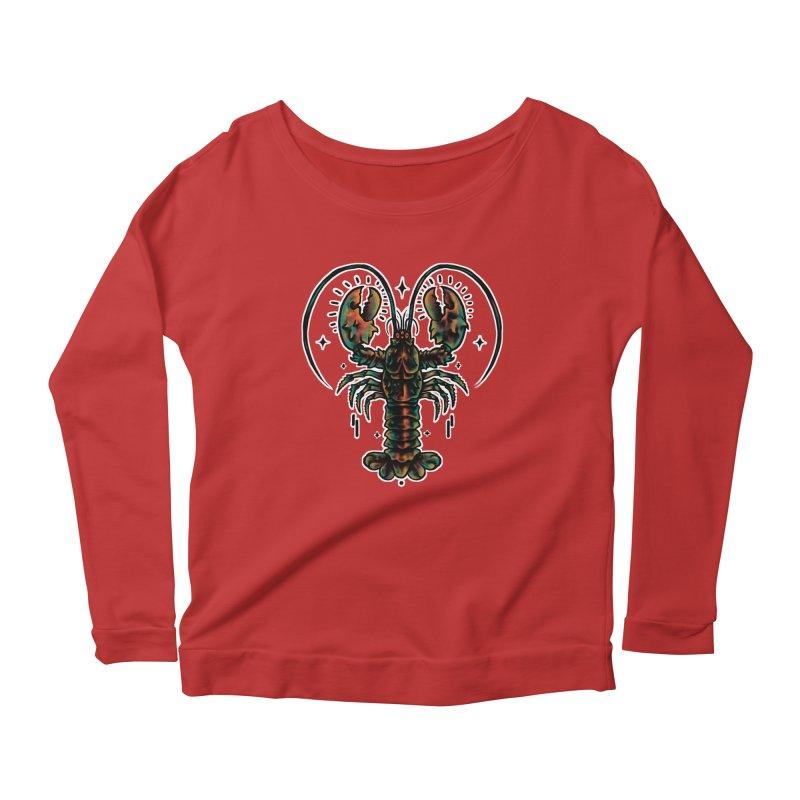 Guard Lobster Women's Scoop Neck Longsleeve T-Shirt by barmalisiRTB