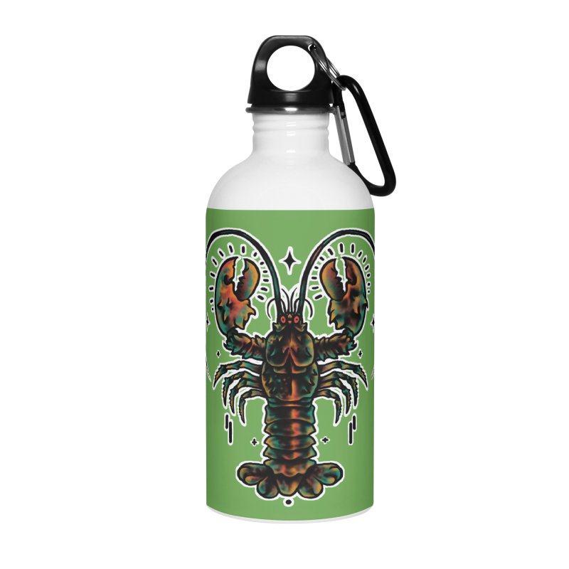Lobster Guard Accessories Water Bottle by barmalisiRTB