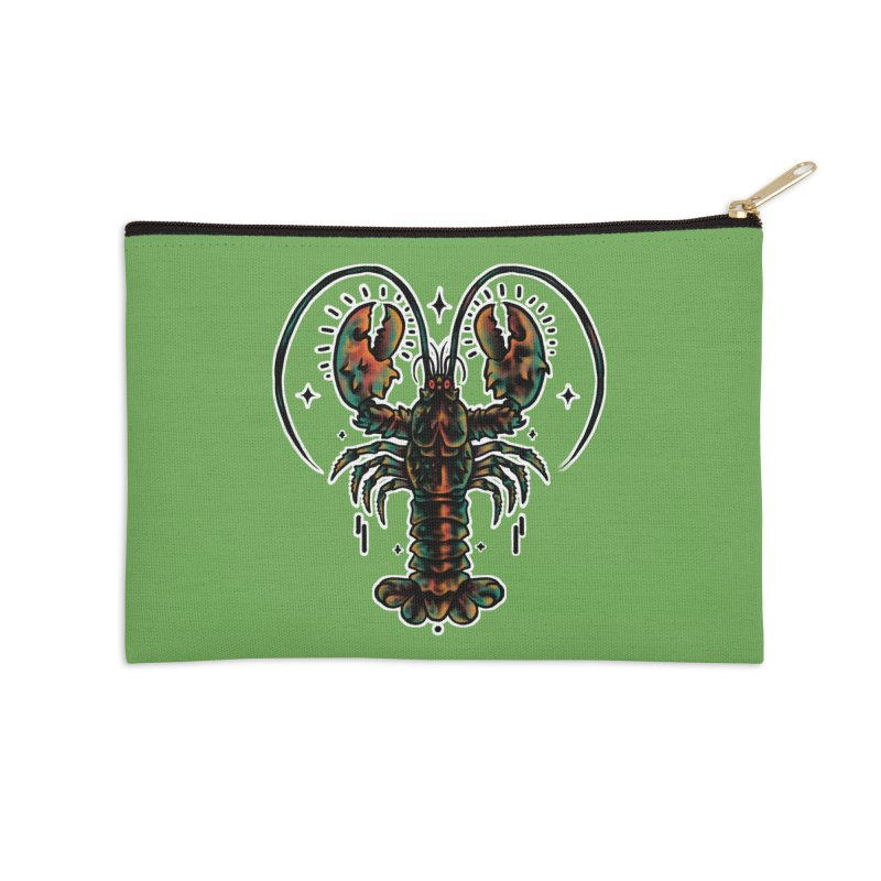 Lobster Guard Accessories Zip Pouch by barmalisiRTB