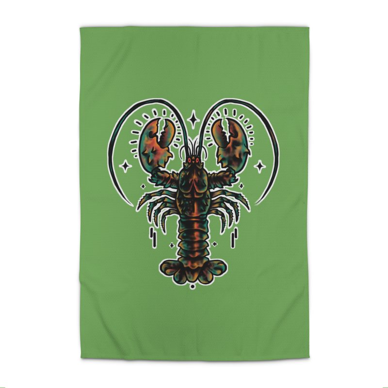 Lobster Guard Home Rug by barmalisiRTB