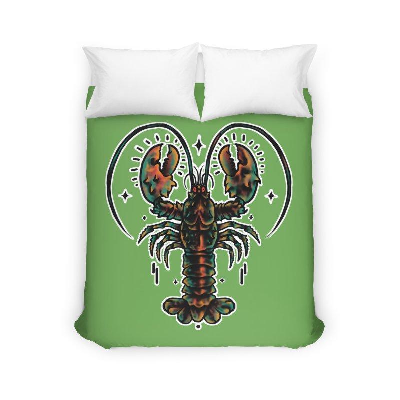 Lobster Guard Home Duvet by barmalisiRTB