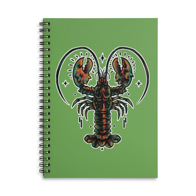 Lobster Guard Accessories Notebook by barmalisiRTB