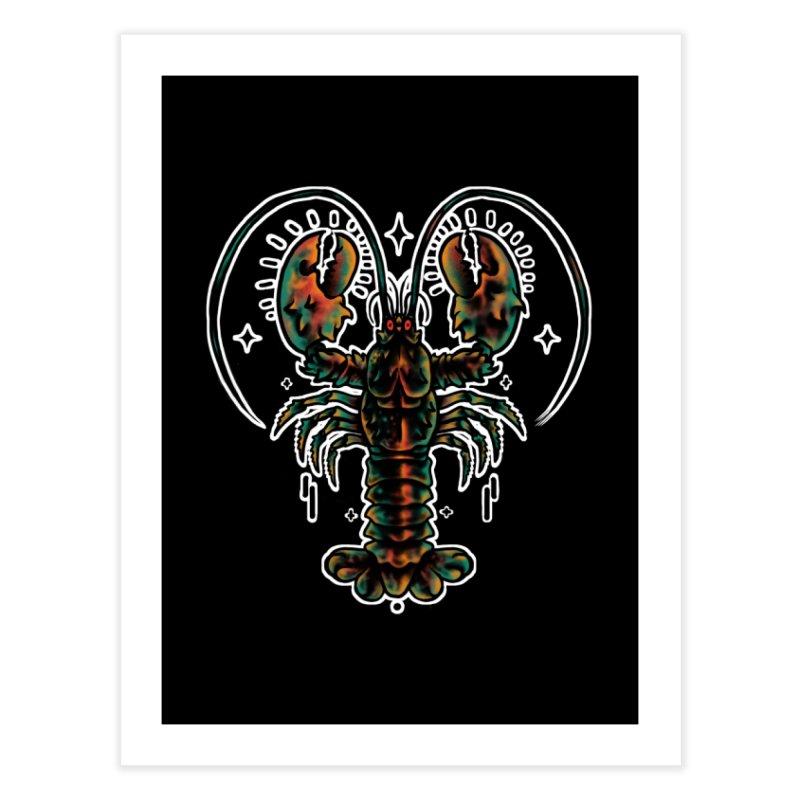 Lobster Guard Home Fine Art Print by barmalisiRTB