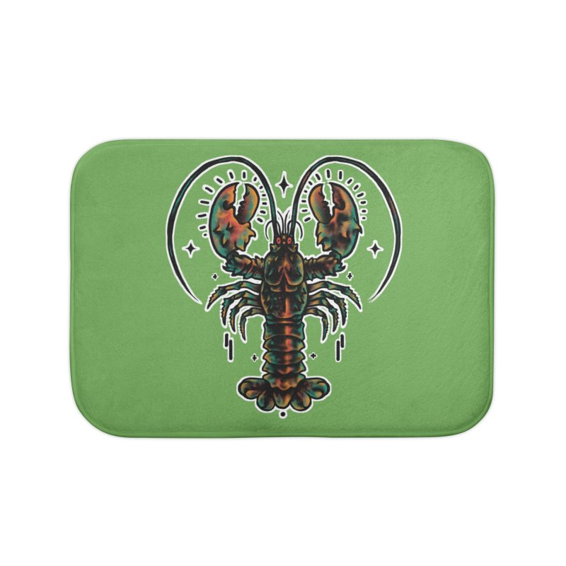 Lobster Guard Home Bath Mat by barmalisiRTB