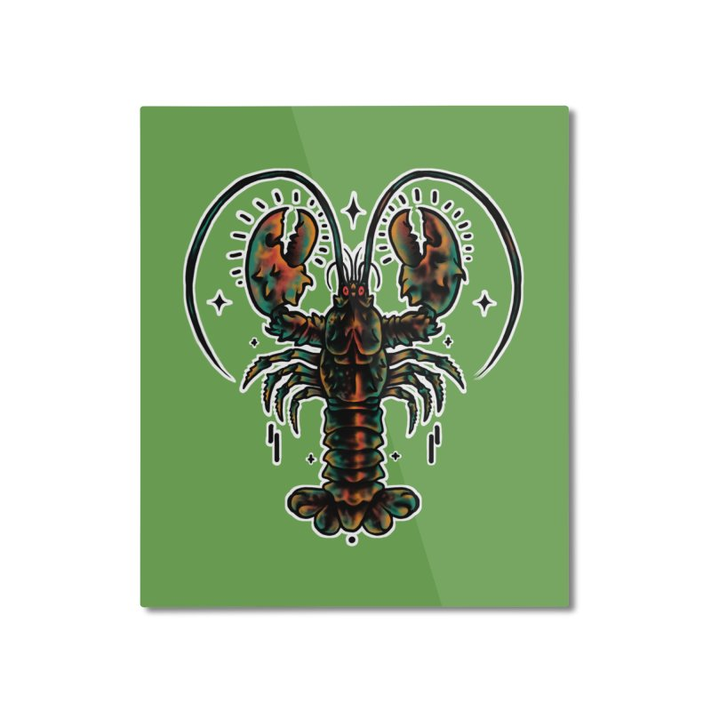 Lobster Guard Home Mounted Aluminum Print by barmalisiRTB