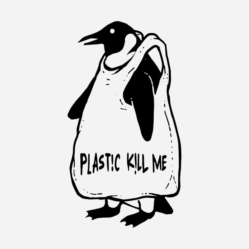 Plastic kill me Home Throw Pillow by barmalisiRTB