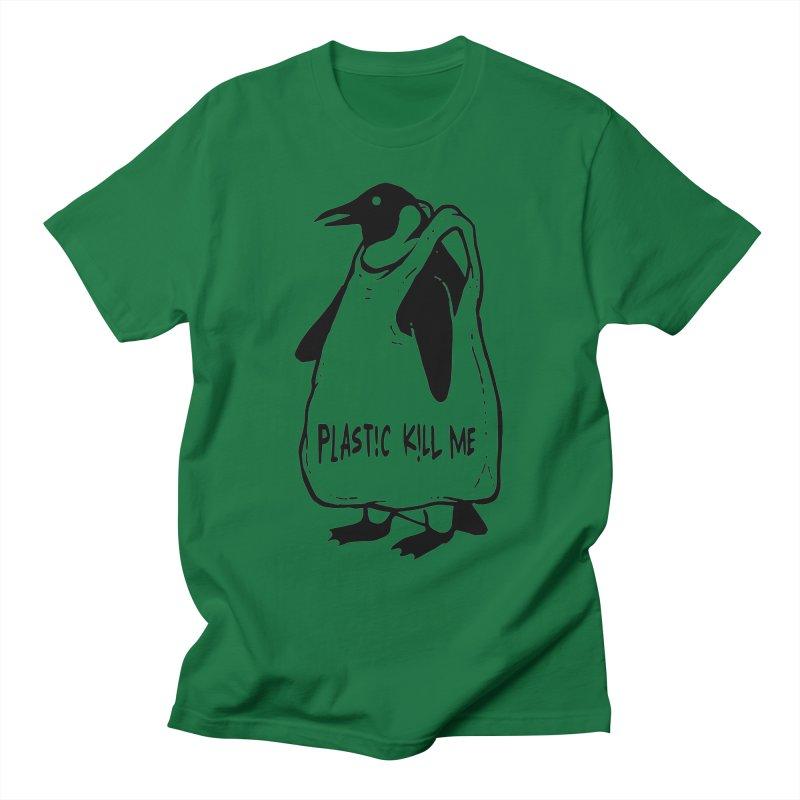 Plastic kill me Men's T-Shirt by barmalisiRTB