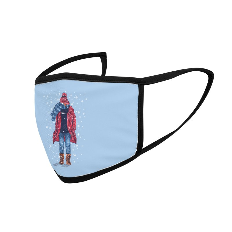 Snow Cool Accessories Face Mask by barmalisiRTB