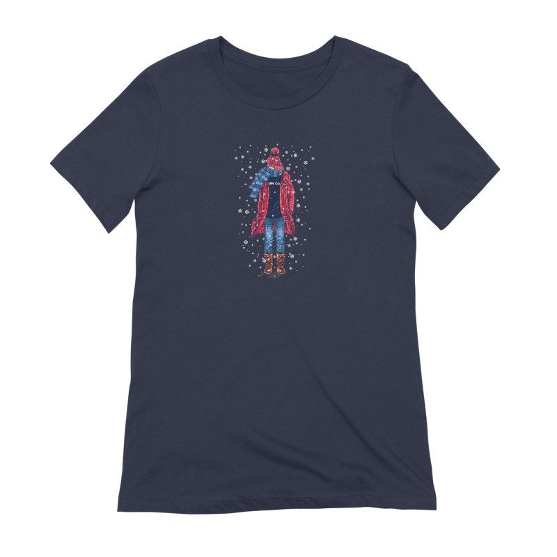 Snow Cool Women's Extra Soft T-Shirt by barmalisiRTB