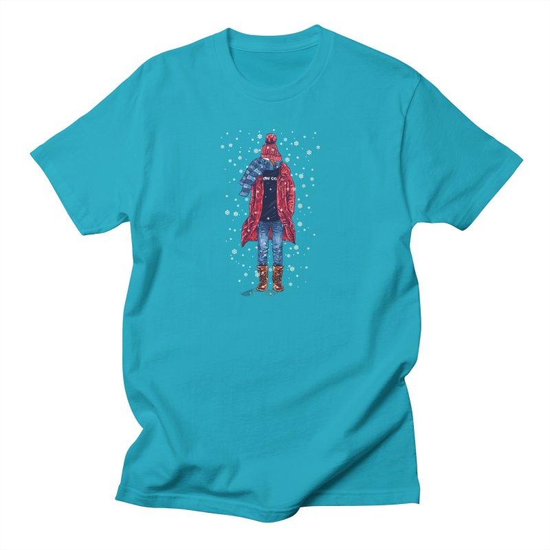 Snow Cool Men's T-Shirt by barmalisiRTB