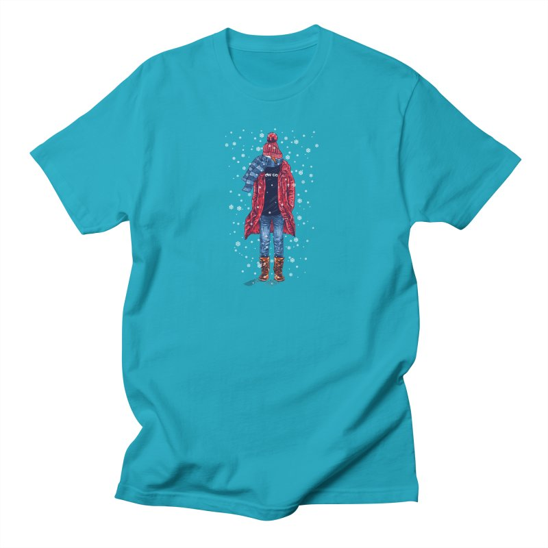 Snow Cool Men's T-Shirt by barmalisiRTB