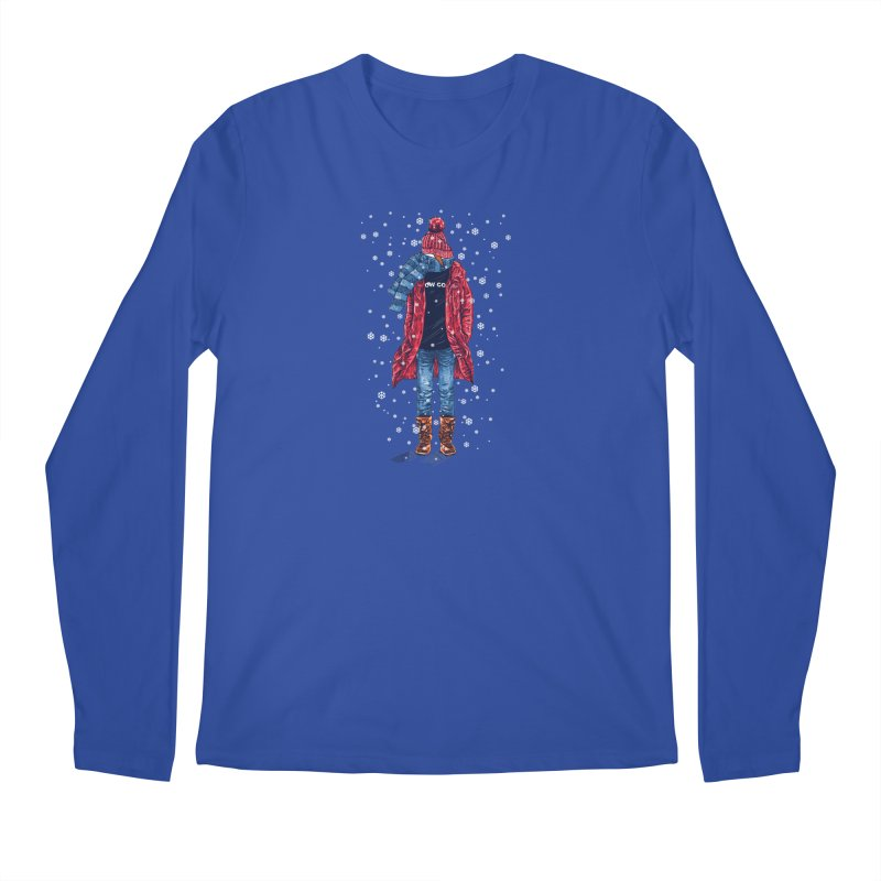 Snow Cool Men's Regular Longsleeve T-Shirt by barmalisiRTB