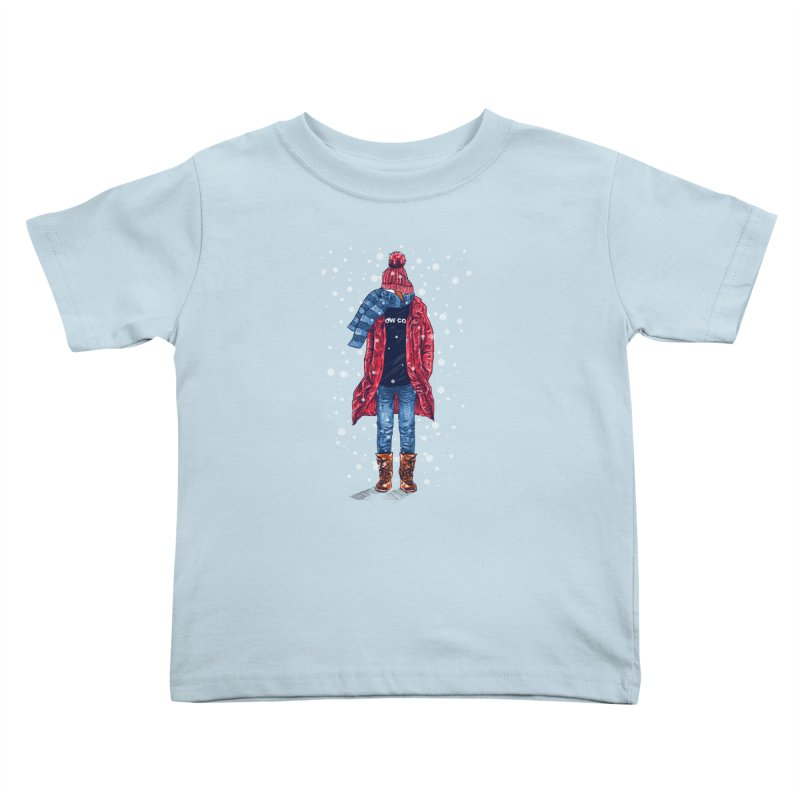 Snow Cool Kids Toddler T-Shirt by barmalisiRTB