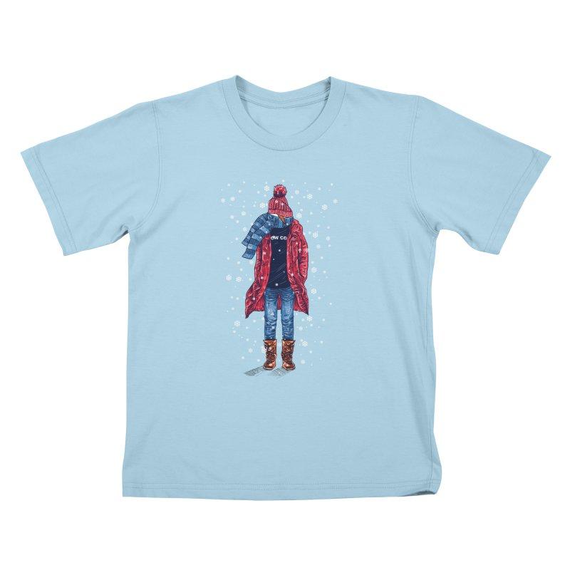 Snow Cool Kids T-Shirt by barmalisiRTB