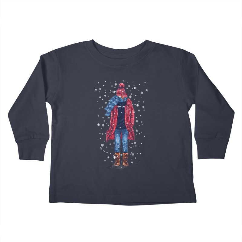 Snow Cool Kids Toddler Longsleeve T-Shirt by barmalisiRTB